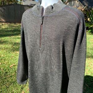Tommy Bahama Mens Flipsider Half Zip Sweatshirt